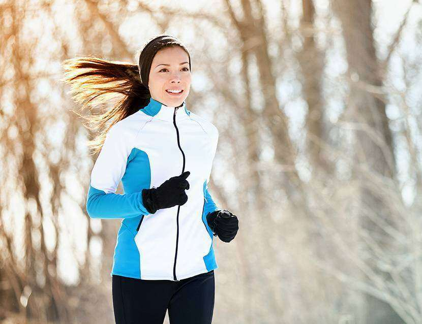 Jogging iarna? Se poate!