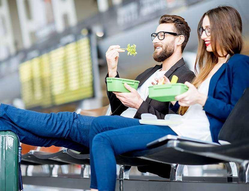 Ce e indicat sa mananci cat astepti in aeroport
